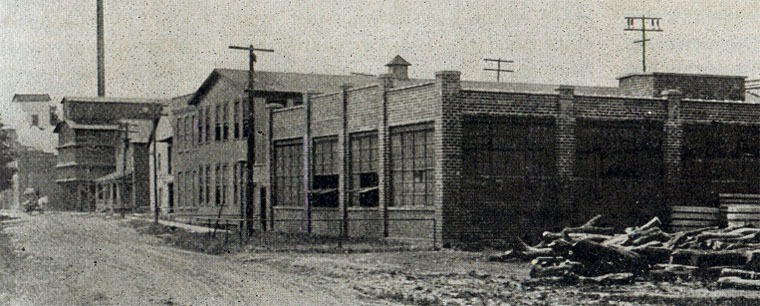 The OKC factory in Franklinville, 1914