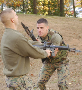 Marines with the OKC-S3 Bayonet
