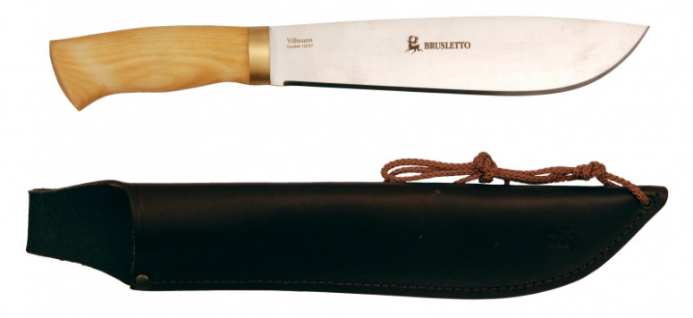 Brusletto Villman. A Sami Leuku-style large knife