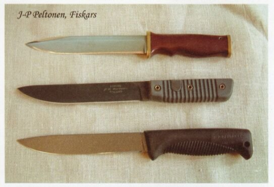 Comparing the knife Cpt. Peltonen made after returning from Lebanon to the m92 bayonet and the Sissipuukko